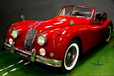 Jaguar Xk 140  Original