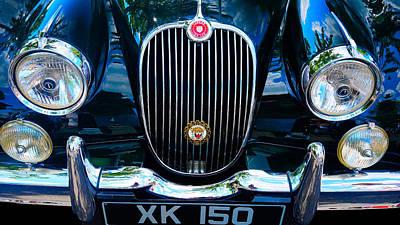 Photograph - Jaguar Xk-150 1961 by William Jobes
