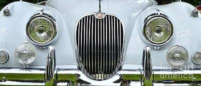 Photograph - Jaguar X K 150 Front Grill by Allen Beatty