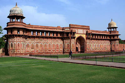 Photograph - Jahangir Palace Red Fort Agra by Aidan Moran