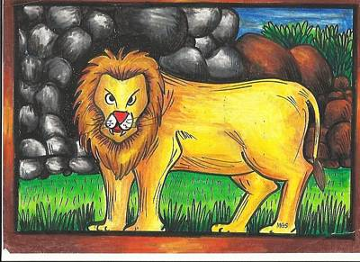 Jai 2 Art Print by Jai Ganesh