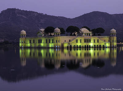 Photograph - Jai Mahal Water Palace by Fran Gallogly