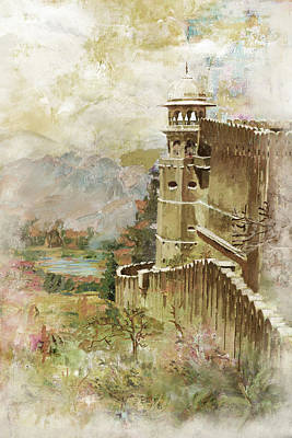 Temple Painting - Jaigarh Fort by Catf