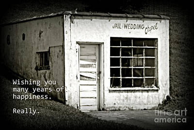 Photograph - Jail And Wedding Chapel by Valerie Reeves