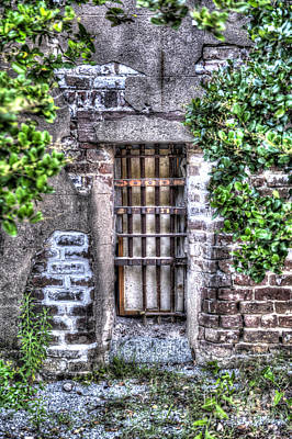 Photograph - Jail Room Window by Dale Powell