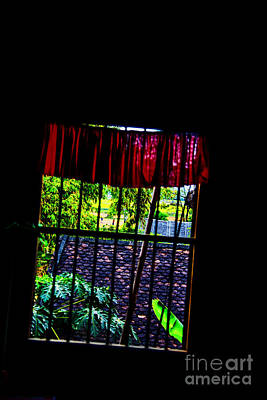 Photograph - Jail Window by Rick Bragan