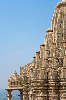 Jainism Wall Art - Photograph - Jain Temple In Chittorgarh Fort by Keren Su