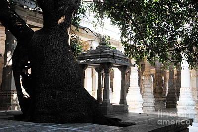 Photograph - Jain Temple Interior by Jacqueline M Lewis