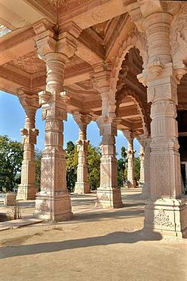 Western Art - Jain Temple Side View - Amarkantak India by Kim Bemis