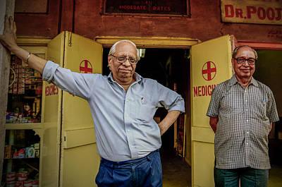 Photograph - Jaipur Doctors by Valerie Rosen