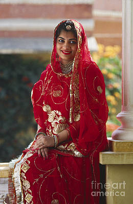 Photograph - Jaipur Royal Bride - Rajasthan India by Craig Lovell