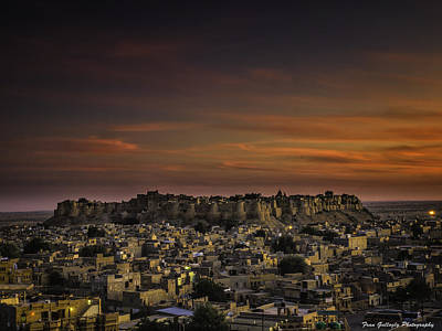 Photograph - Jaisalmer Fort At Twilight by Fran Gallogly