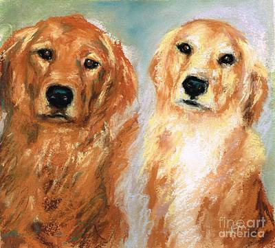 Henry And Jakie Art Print by Frances Marino