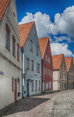 Malmo Painting - Jakriborg Digital Painting by Antony McAulay