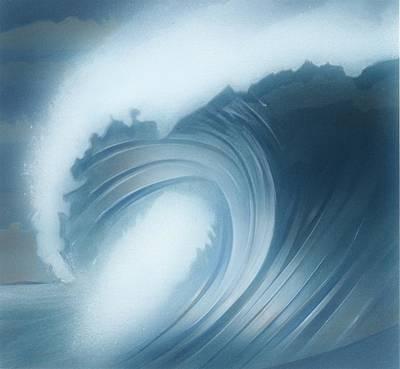 Jalama Surf Art Print