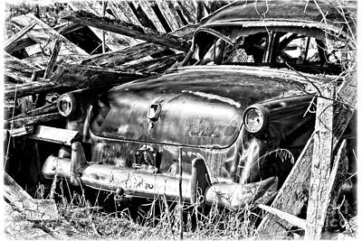 Photograph - Jalopy For Rent by Ms Judi