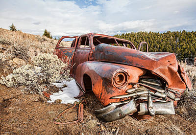 Photograph - Jalopy by Fran Riley