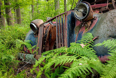 Photograph - Jalopy by Sara Hudock