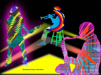 Jam Session Art Print by Michael Chatman