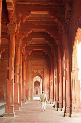 Repetition Photograph - Jama Masjid, Fatehpur Sikri, Uttar by Inger Hogstrom