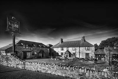 Bodmin Photograph - Jamaica Inn Black And White by Chris Thaxter