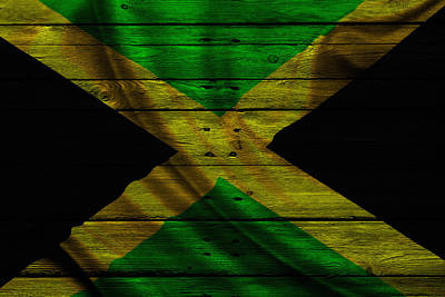Flag Pole Photograph - Jamaica by Joe Hamilton