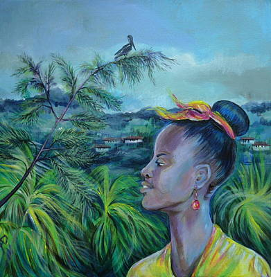 Jamaica. Part Two Art Print by Anna  Duyunova