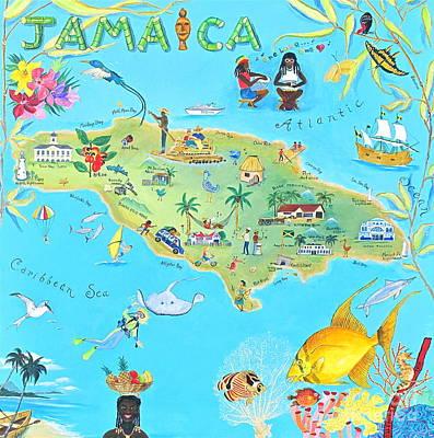 Banff Artist Painting - Jamaica by Virginia Ann Hemingson