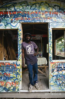 Jamaican Bar Art Print