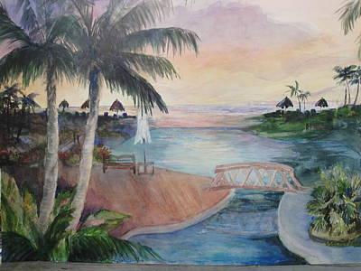 Jamaican Dream Art Print by Evelyn Cassaday