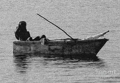 Jamaican Fisherman In Ocho Rios Jamaica Art Print