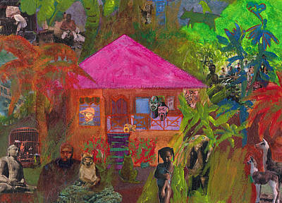 Art Print featuring the mixed media Jamaican Holiday by Catherine Redmayne