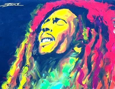 Jamaican Sun Art Print