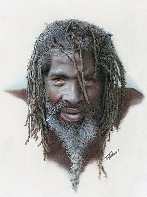 Painting - Jamaican by Terry Mellway