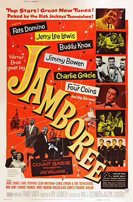 1957 Movies Photograph - Jamboree, Lower Left Joe Williams by Everett