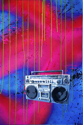 Jamboxxx Art Print by Bobby Zeik