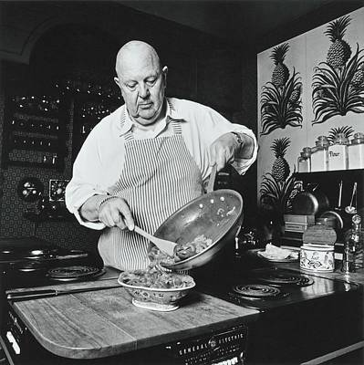 Teaching Photograph - James Beard Cooking by Ernst Beadle