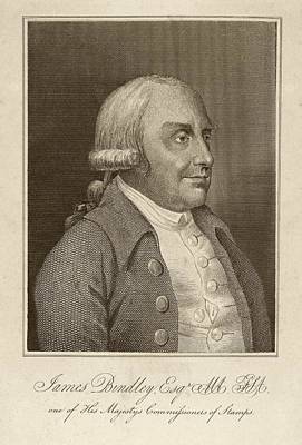 James Bindley Print by Middle Temple Library