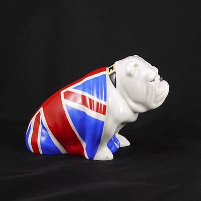 Photograph - James Bond - British Bulldog - Jack 3 by Richard Reeve