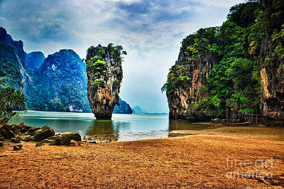 James Bond Island Art Print