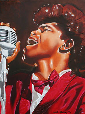 Painting - James Brown King Of Soul by Belle Massey