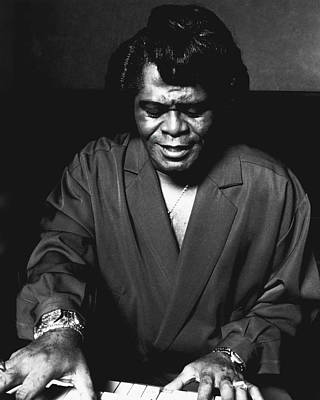 Voice Photograph - James Brown by Retro Images Archive