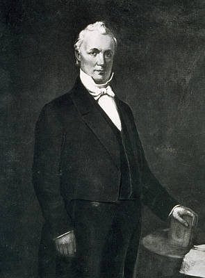 Man Of The House Painting - James Buchanan by Eliphalet Frazer Andrews