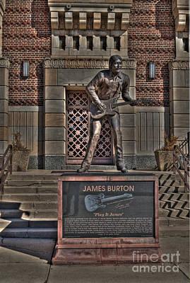 Hdr Photograph - James Burton by Hilton Barlow