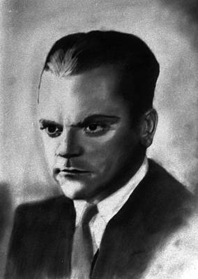 Drawing - James Cagney by Derrick Parsons