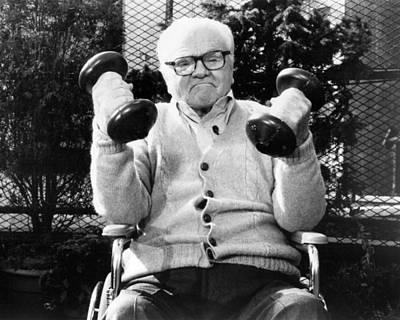 James Cagney In Terrible Joe Moran  Art Print