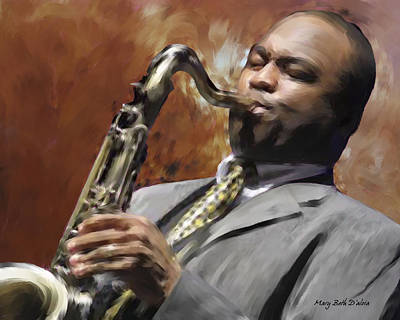 Carter.oil Painting - James Carter by Mary Beth D'Aloia
