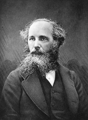 Scientist Photograph - James Clerk Maxwell by Science Photo Library