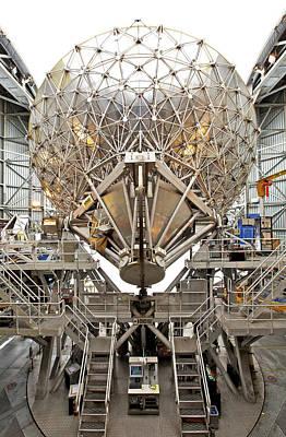 Jac Photograph - James Clerk Maxwell Telescope by Enrico Sacchetti