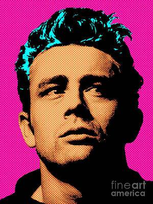 Actors Royalty-Free and Rights-Managed Images - James Dean 001 by Bobbi Freelance